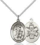 Guardian Angel  EMT Sterling Silver Medal - St. Mary's Gift Store