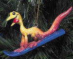 "Kitty's Critters ""Whoopie"" Gecko Christmas Ornament"