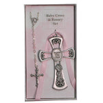 Cross and Rosary Set- Girl - St. Mary's Gift Store
