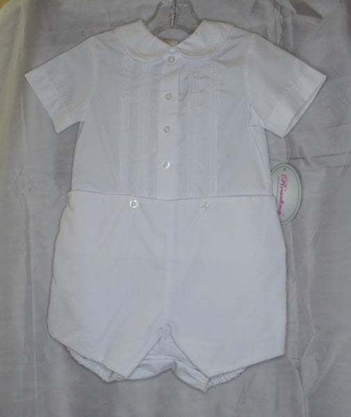 Baby Boy White Romper by Sir John of Rosaura Baby - 24 months
