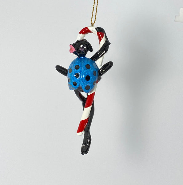 "Kitty's Critters ""Sweetie"" Christmas Ornament"