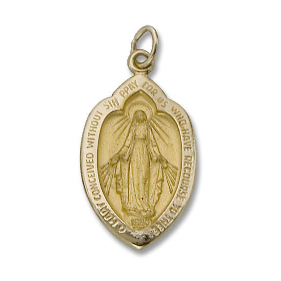 14KT Miraculous Medal - St. Mary's Gift Store
