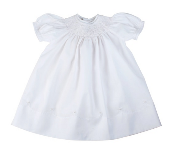 Feltman Brothers Pearl Flower Bishop Dress. 18 months