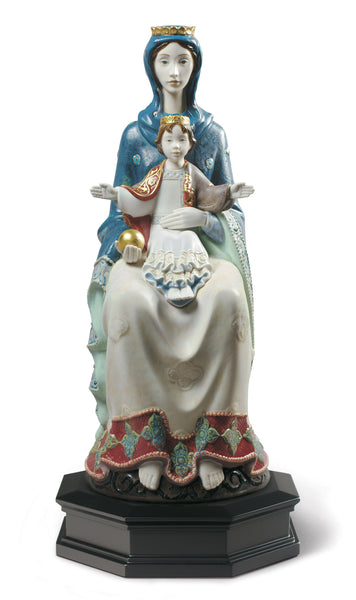 Romanesque Mater Figurine. Limited Edition