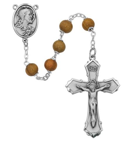Olive Wood Rosary - St. Mary's Gift Store