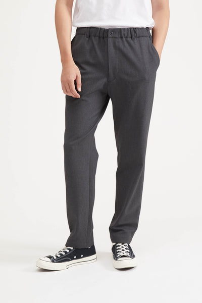 Loose-Fitting Pant - Charcoal