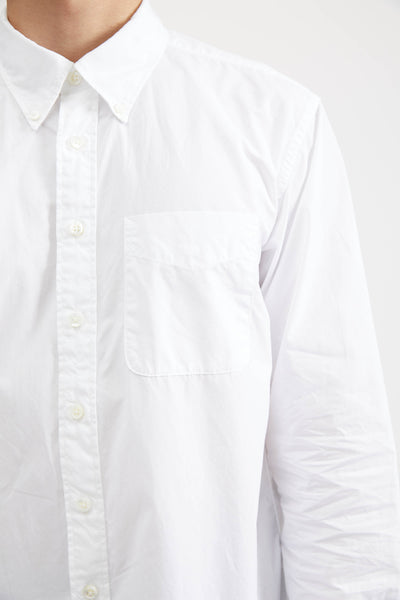 19th Century Bd Shirt 100'S Two Ply Broadcloth - White