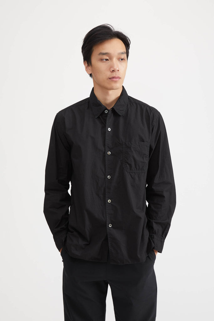 BASIC SHIRT - BLACK
