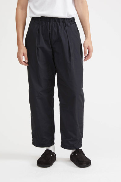 TIME MODULE SERIES WIDE TAPERED PANTS-TM - NAVY