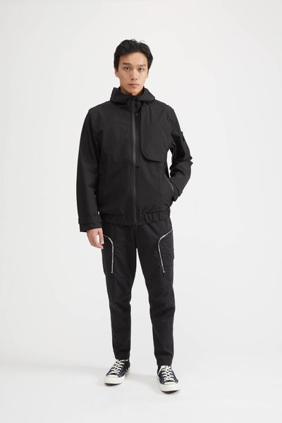 40501 SHADOW PROJECT GORE-TEX PACLITE JACKET - BLACK
