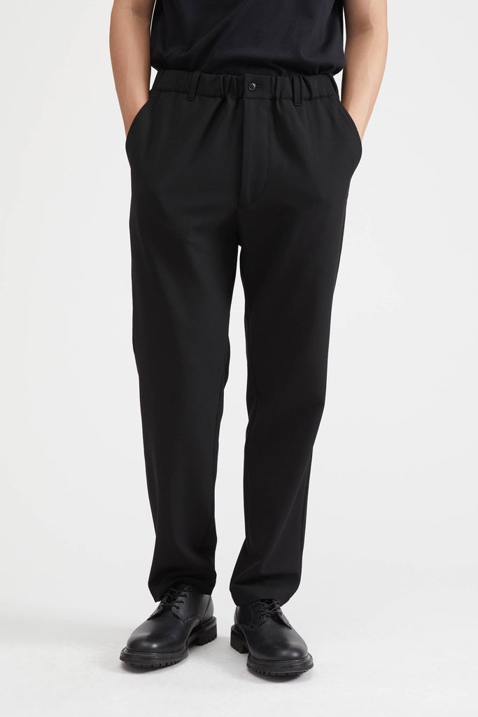 Loose-Fitting Pant - Black