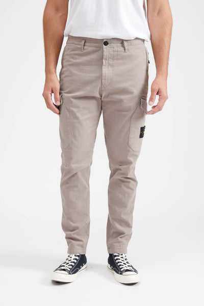 31310 GARBARDINE STRETCH PANTS - MUD