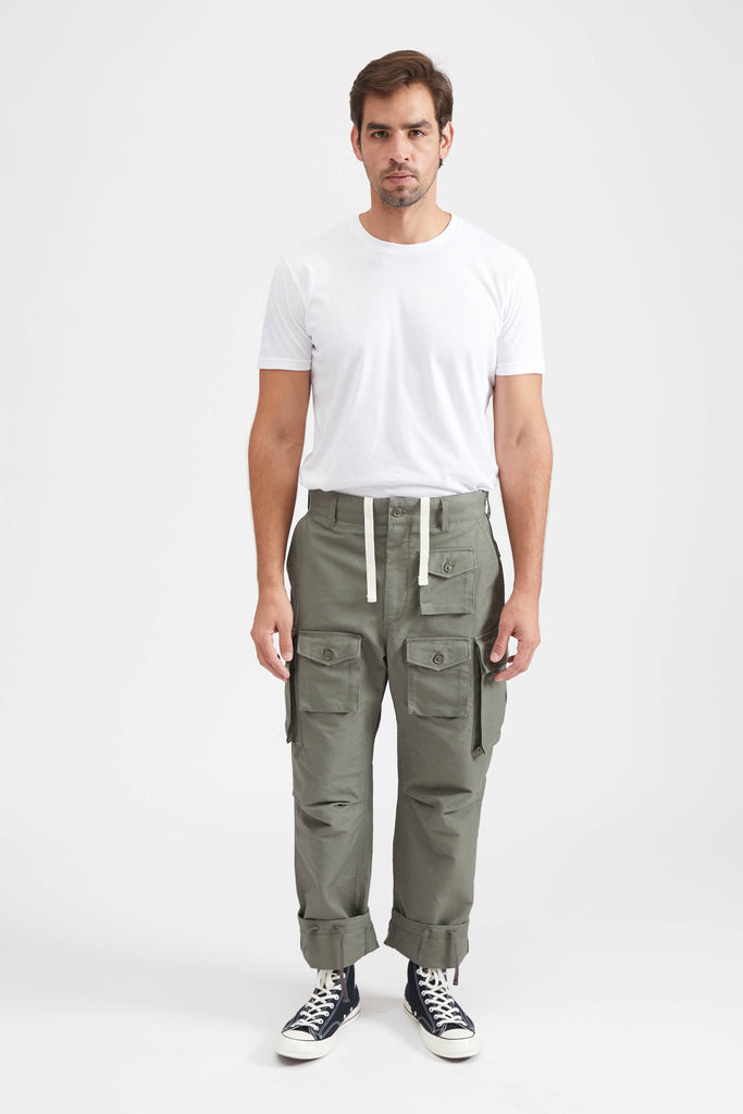 FA Pant Cotton Double Cloth - Olive