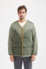 Field Jacket Nylon Cotton - Khaki