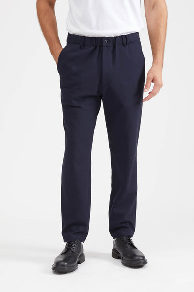 LOOSE-FITTING PANT - NAVY