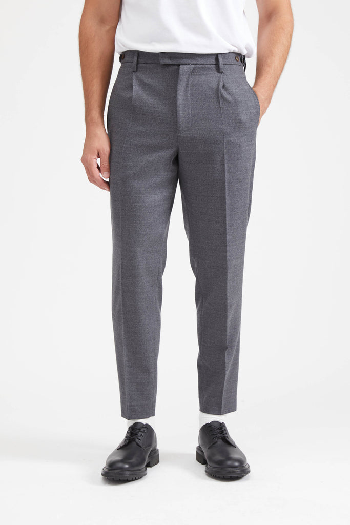 Masco Trousers - Cenere