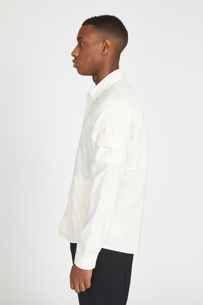 116F3 GHOST TELA PARACADUTE OVERSHIRT - NATURAL