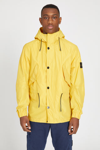 41322 MICRO REPS HOODED JACKET - YELLOW