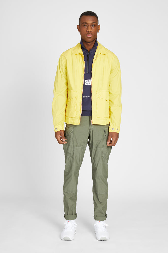 KADAVU JACKET COTTON POPLIN - YELLOW