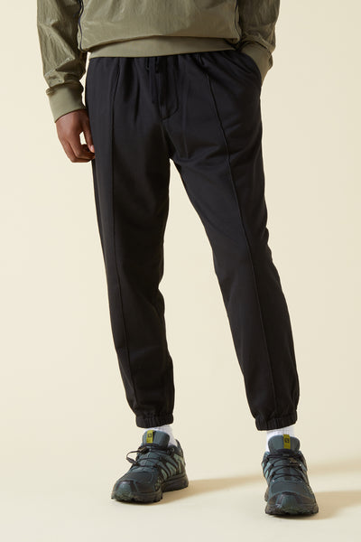 SCALETER FOLPA TROUSERS - NERO
