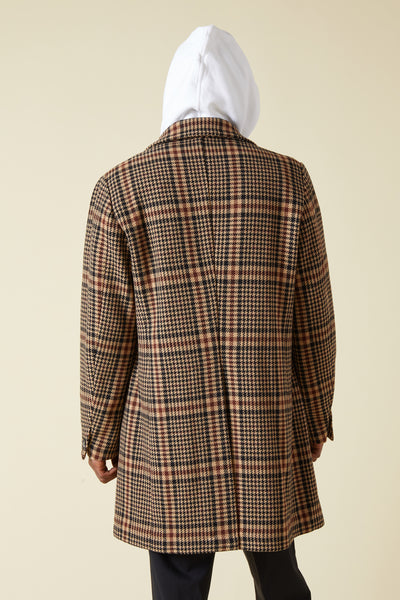 PENTRONE ARON DOUBLE BREASTED COAT - CAMMELLO