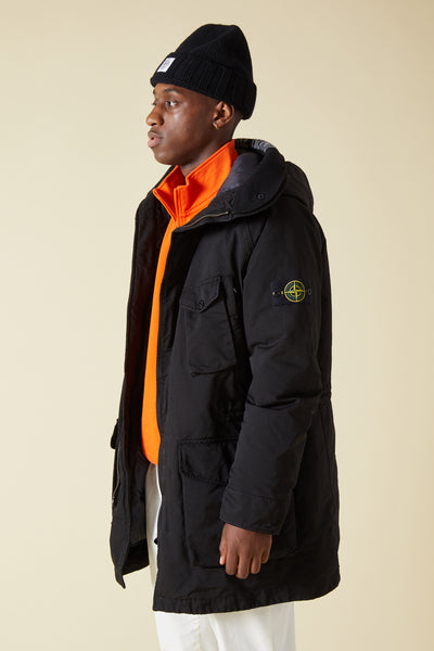 71449 DAVID TC PARKA - BLACK
