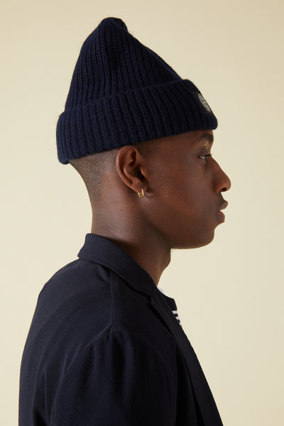 N10B5 GEELONG WOOL CAP - NAVY