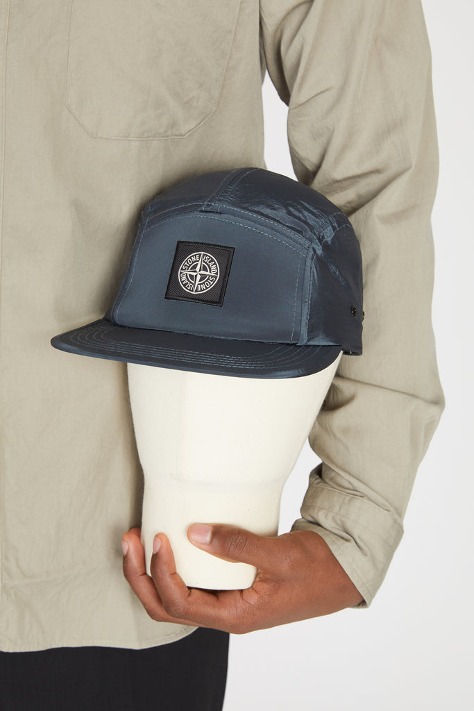 99069 NYLON METAL CAP - BLUE GREY