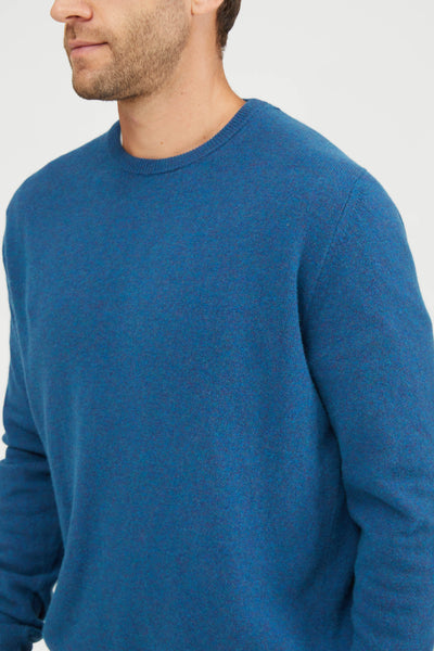 CREW NECK WASHED WOOL - ARAZZO