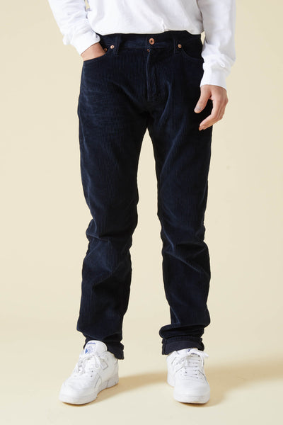 ICARUS SOFT CORDUROY GARMENT DYED - BLUE