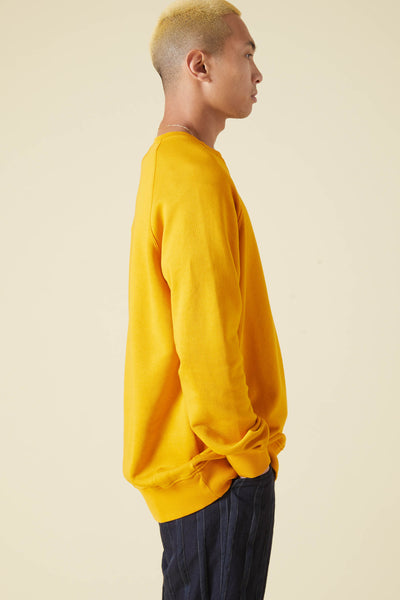 SUPIMA CREW COTTON DYED - YELLOW