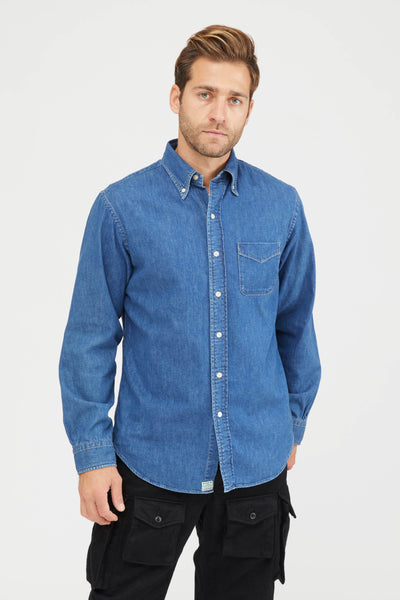 Button Down Shirt - Denim Used