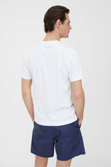 24113 60/2 Cotton Jersey Garment Dyed T Shirt - White