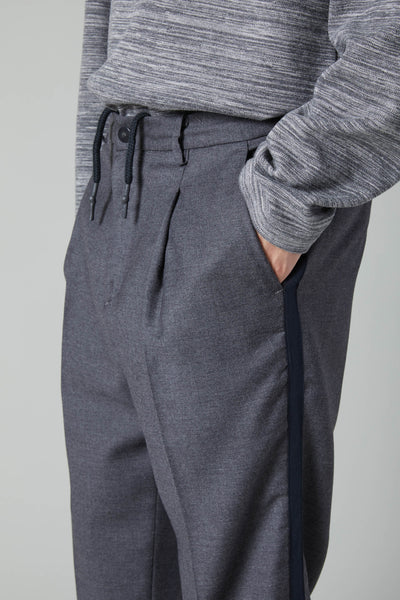 ANGELICO TROUSER WOOL BAND - GREY