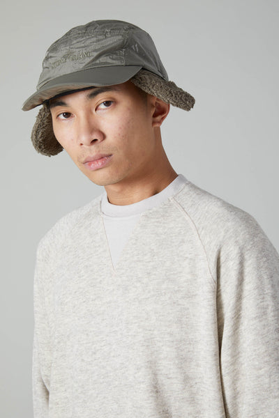 YAK WOOL CREWNECK SWEATSHIRT - NATURAL