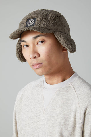 99876 NYLON METAL TERRY LINED CAP - OLIVE