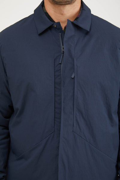 Mionn Is Overshirt - Deep Navy