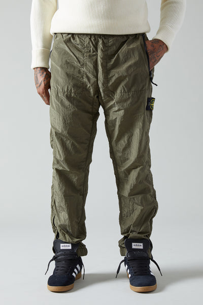 64212 NYLON METAL LINED PANTS - OLIVE
