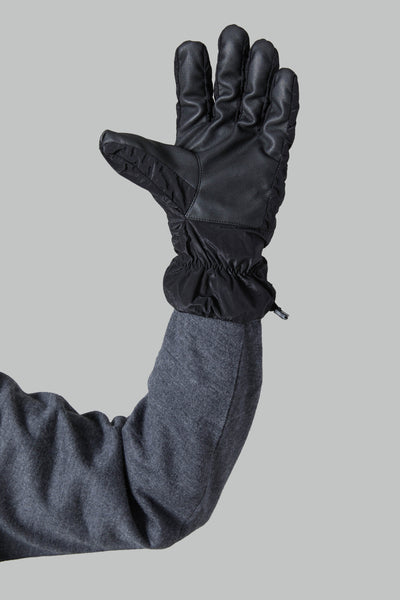 92069 NYLON METAL GLOVES - BLACK