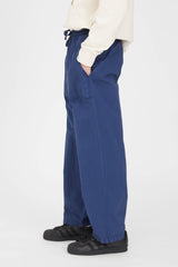Time Off Trouser P's Cotton Nylon Dyed - Blue Navy
