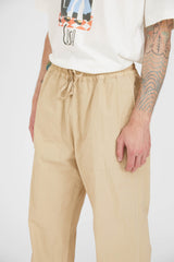 Time Off Trouser P's Cotton Nylon Dyed - Beige