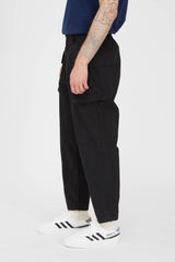Military Pants - Black Cotton Hemp