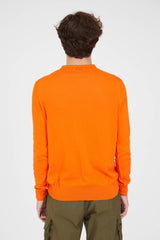 Crew Knit Giza Cotton - Orange