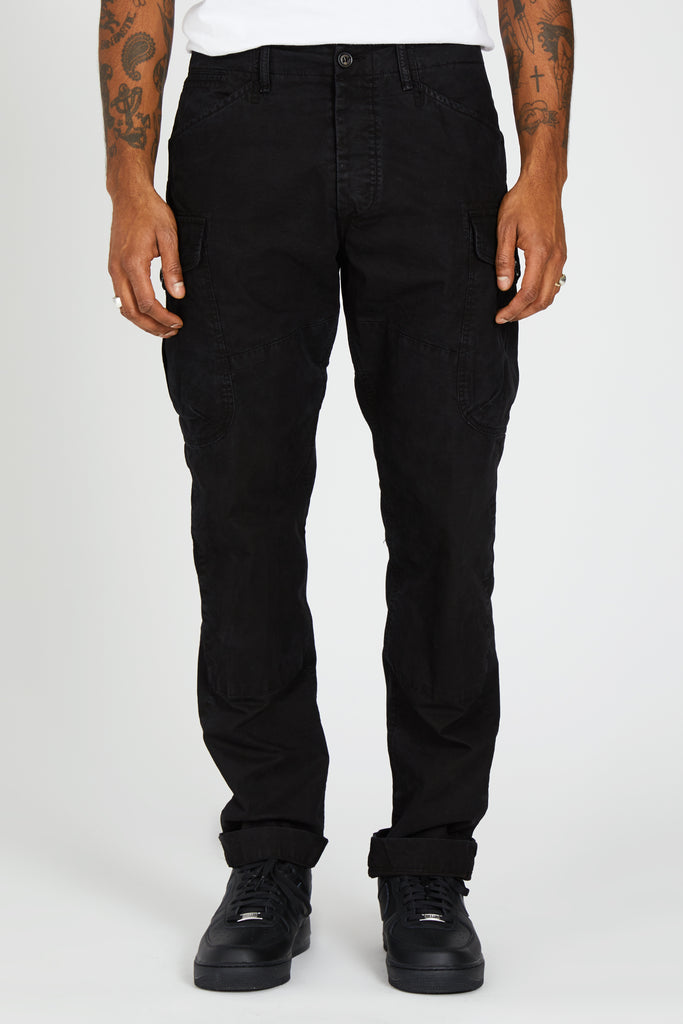 MISSION TROUSER ITALIAN POPLIN - BLACK