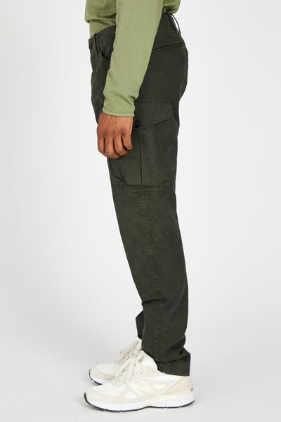 MISSION TROUSER ITALIAN POPLIN - GREEN