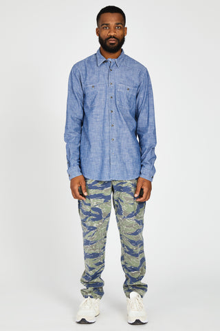 MISSION TROUSER JAPANESE TIGER CAMO - WASHED
