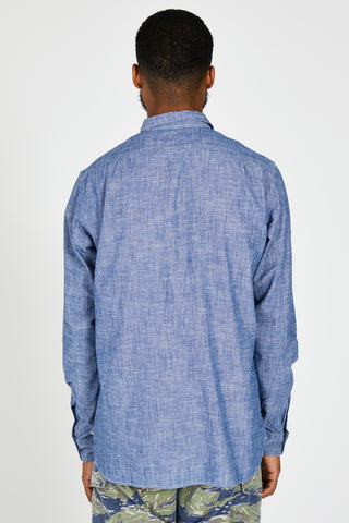 MISSOURI SHIRT CHAMBRAY - BLUE