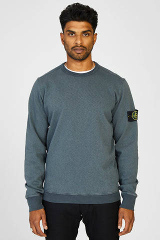 63561 FELPA MALFILE WASHED FLEECE SWEAT SHIRT - GREY