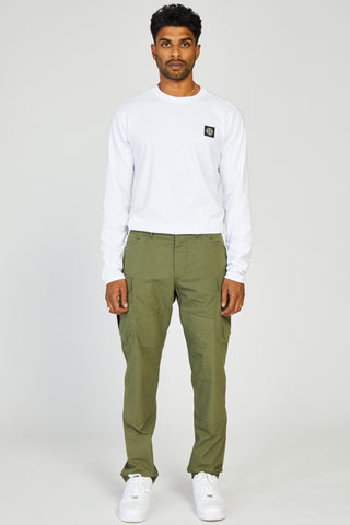 MISSION JAPANESE POPLIN MILITARY CARGO - ARMY GREEN