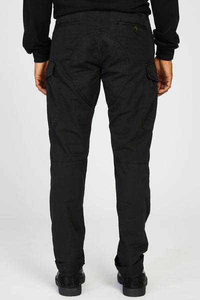 MISSION JAPANESE POPLIN MILITARY CARGO - BLACK